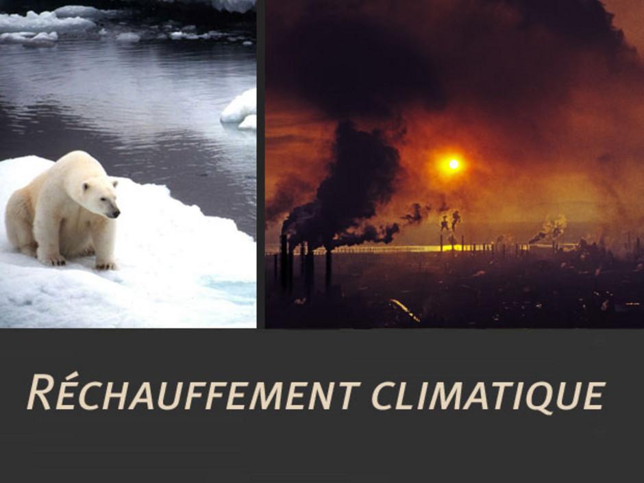 Dissertation sur le rechauffement climatique